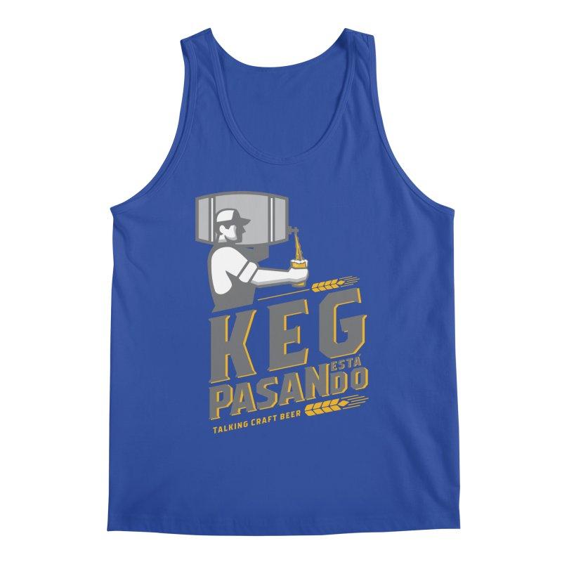 Kept Keg Pour (Grey) Men's Regular Tank by Talking Craft Beer Shop