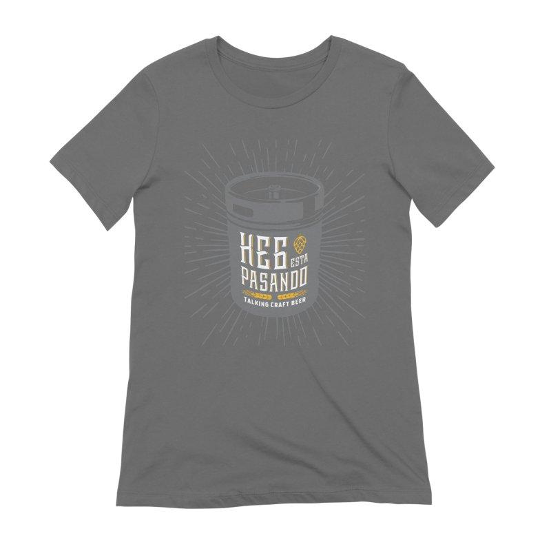 Kept Keg Highlight Women's Extra Soft T-Shirt by Talking Craft Beer Shop