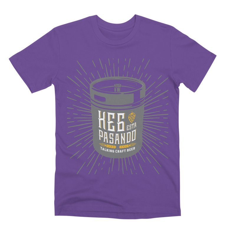 Kept Keg Highlight Men's Premium T-Shirt by Talking Craft Beer Shop