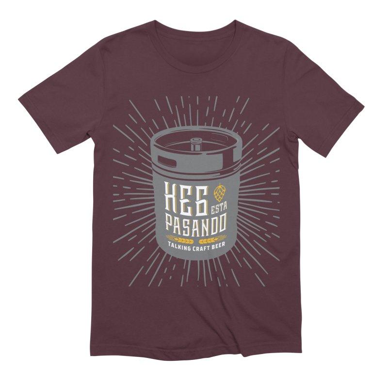 Kept Keg Highlight Men's Extra Soft T-Shirt by Talking Craft Beer Shop