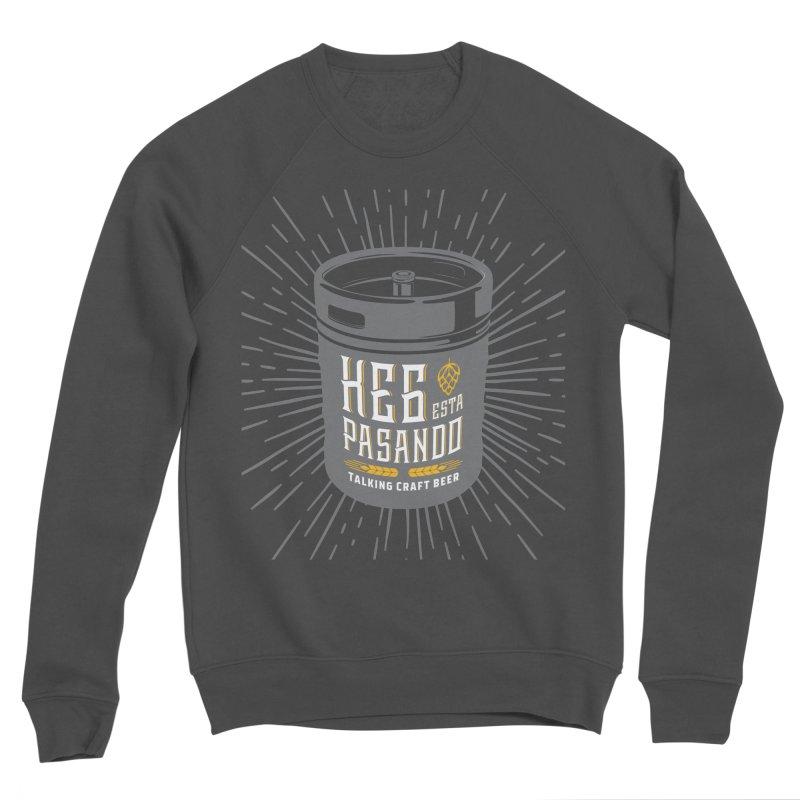 Kept Keg Highlight Men's Sponge Fleece Sweatshirt by Talking Craft Beer Shop