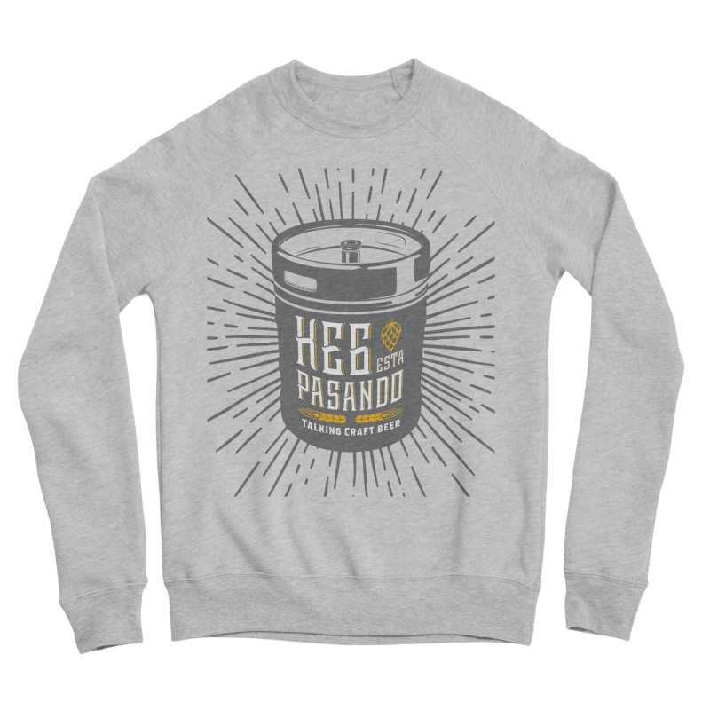 Kept Keg Highlight Men's Sponge Fleece Sweatshirt by Talking Craft Beer Shop