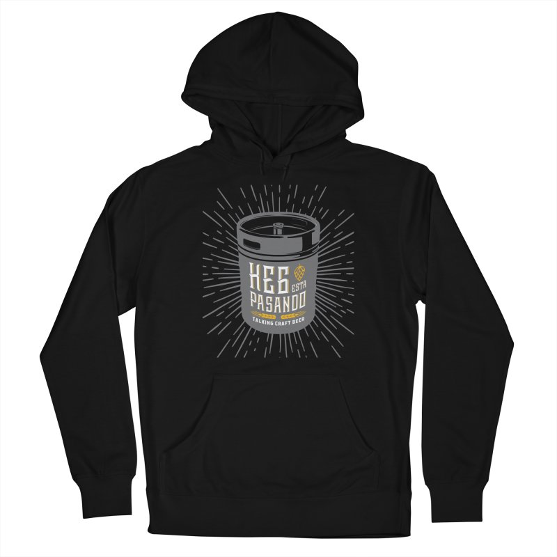 Kept Keg Highlight Women's French Terry Pullover Hoody by Talking Craft Beer Shop