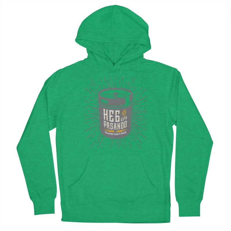 Kept Keg Highlight Men's French Terry Pullover Hoody by Talking Craft Beer Shop