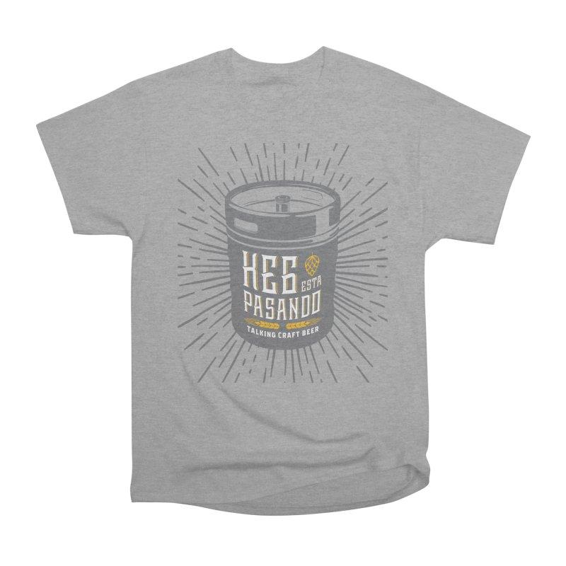Kept Keg Highlight Men's Heavyweight T-Shirt by Talking Craft Beer Shop