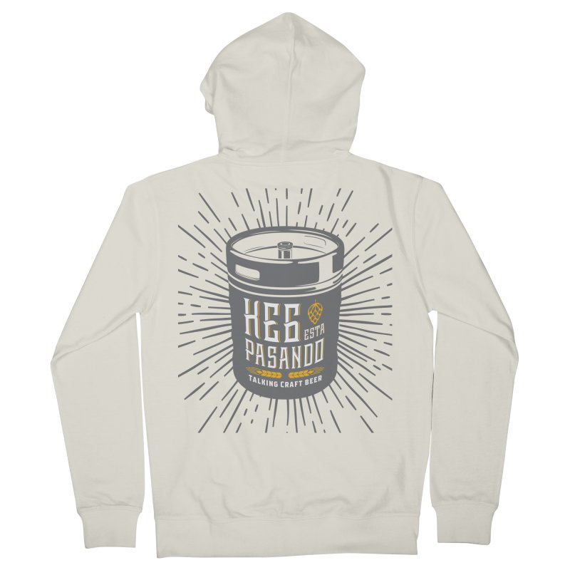 Kept Keg Highlight Women's French Terry Zip-Up Hoody by Talking Craft Beer Shop
