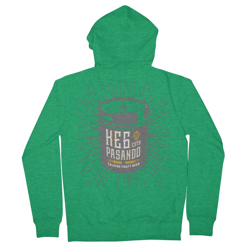 Kept Keg Highlight Men's Zip-Up Hoody by Talking Craft Beer Shop
