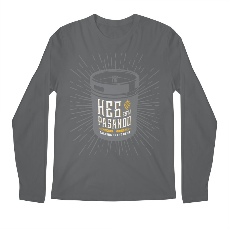 Kept Keg Highlight Men's Longsleeve T-Shirt by Talking Craft Beer Shop