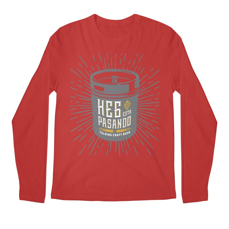Kept Keg Highlight Men's Regular Longsleeve T-Shirt by Talking Craft Beer Shop