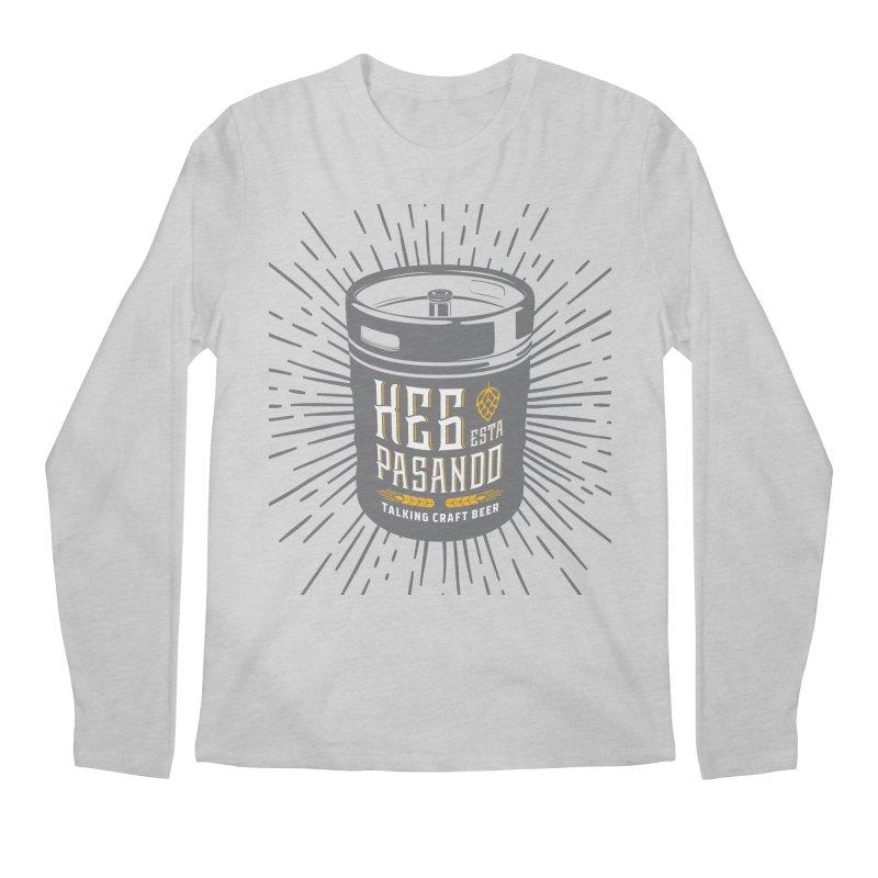 Kept Keg Highlight Men's Regular Longsleeve T-Shirt by Talking Craft Beer Shop