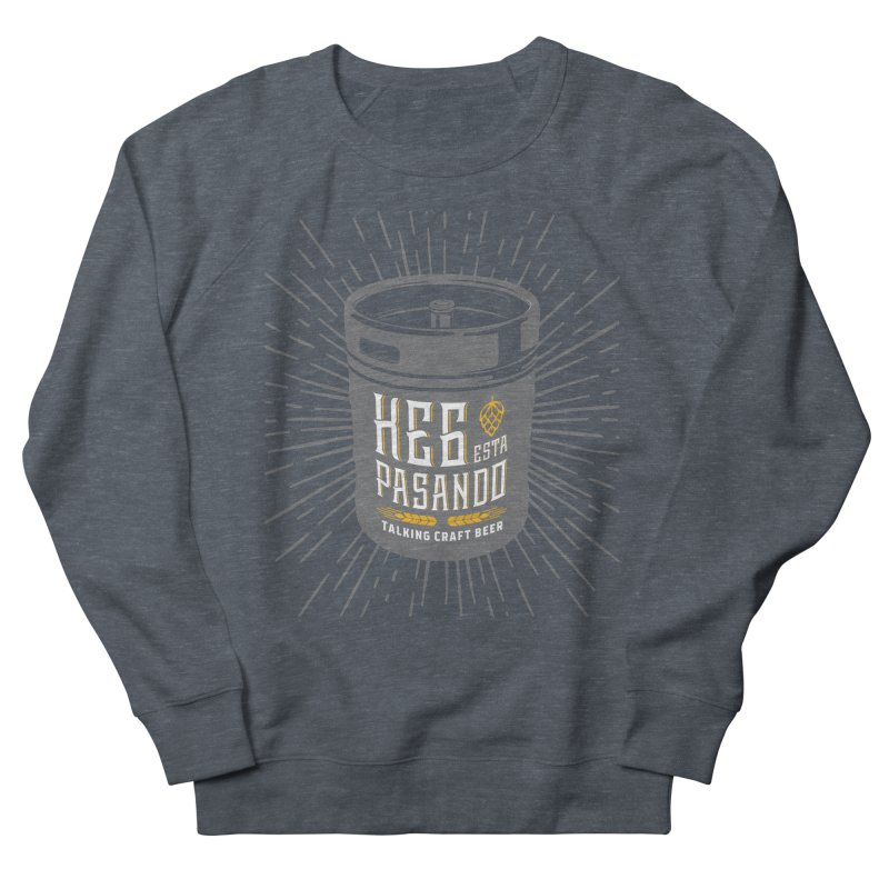 Kept Keg Highlight Women's French Terry Sweatshirt by Talking Craft Beer Shop