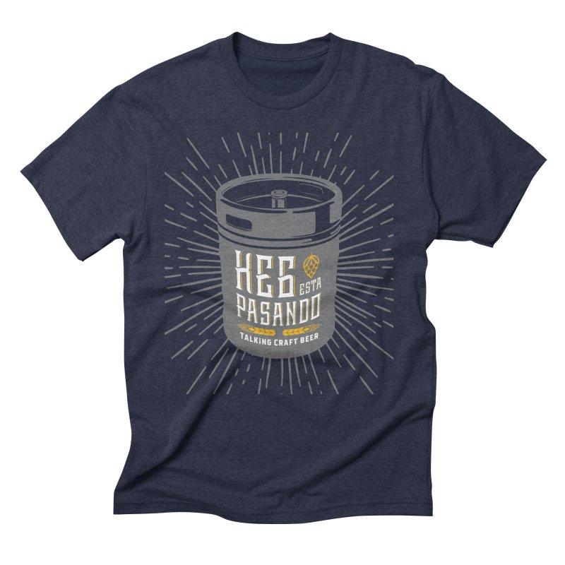 Kept Keg Highlight Men's Triblend T-Shirt by Talking Craft Beer Shop