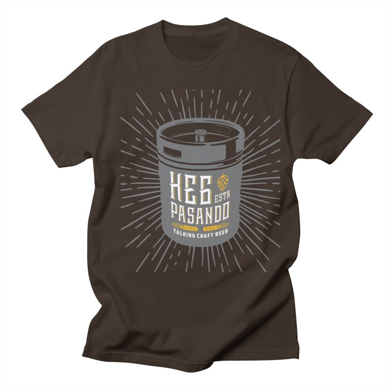 Kept Keg Highlight Men's Regular T-Shirt by Talking Craft Beer Shop