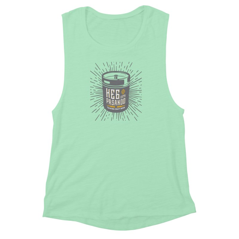 Kept Keg Highlight Women's Muscle Tank by Talking Craft Beer Shop