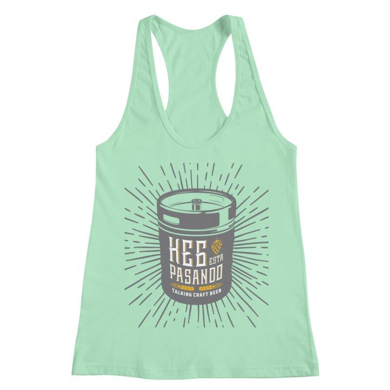 Kept Keg Highlight Women's Racerback Tank by Talking Craft Beer Shop