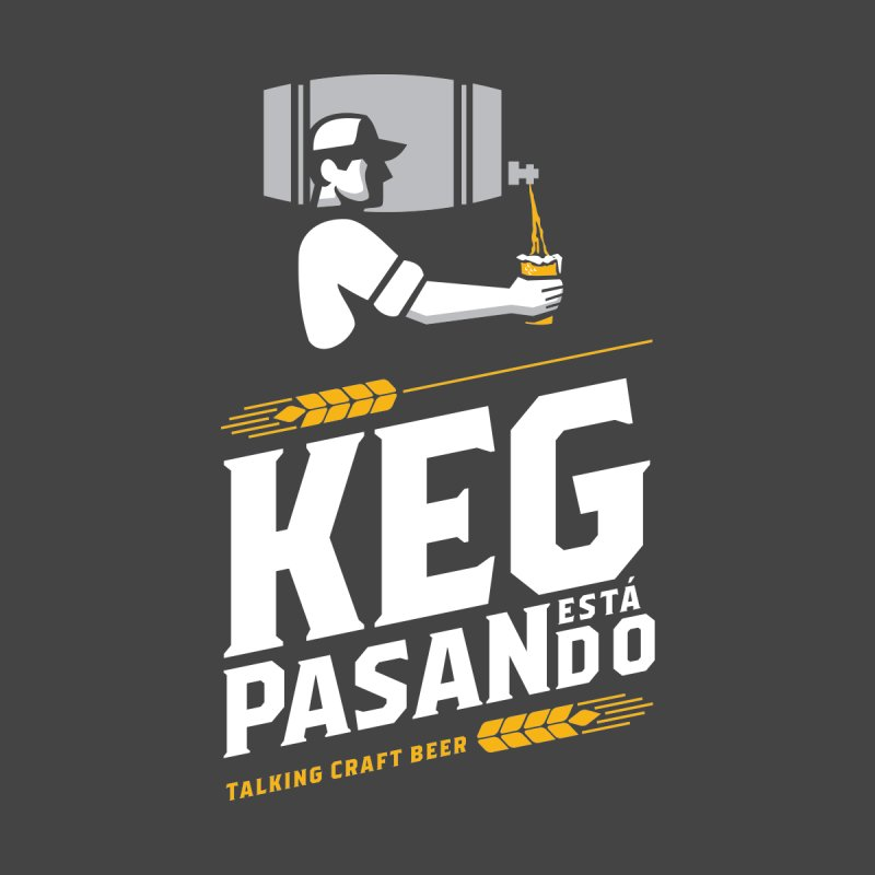 Kept Keg Pour (transparent) Men's Zip-Up Hoody by Talking Craft Beer Shop