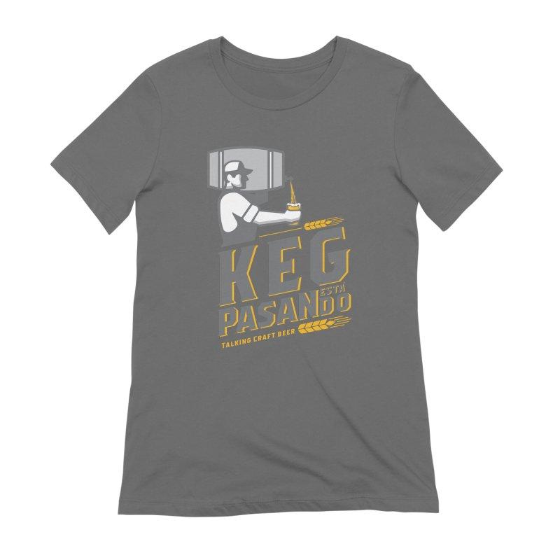 Kept Keg Pour (transparent) Women's T-Shirt by Talking Craft Beer Shop