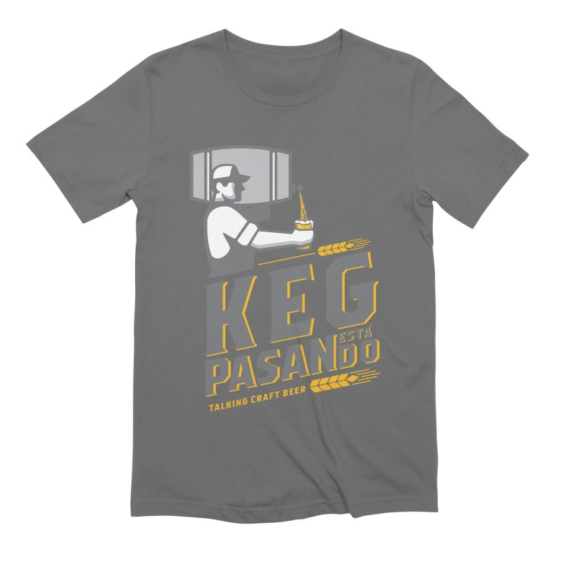 Kept Keg Pour (transparent) Men's T-Shirt by Talking Craft Beer Shop