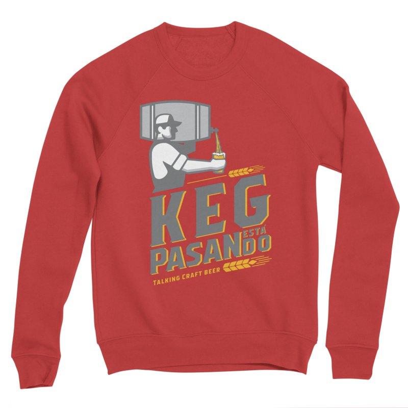 Kept Keg Pour (transparent) Women's Sponge Fleece Sweatshirt by Talking Craft Beer Shop
