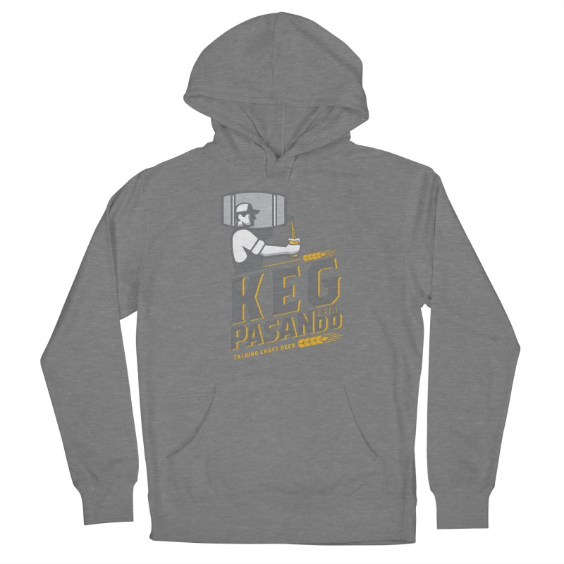 Kept Keg Pour (transparent) Women's Pullover Hoody by Talking Craft Beer Shop