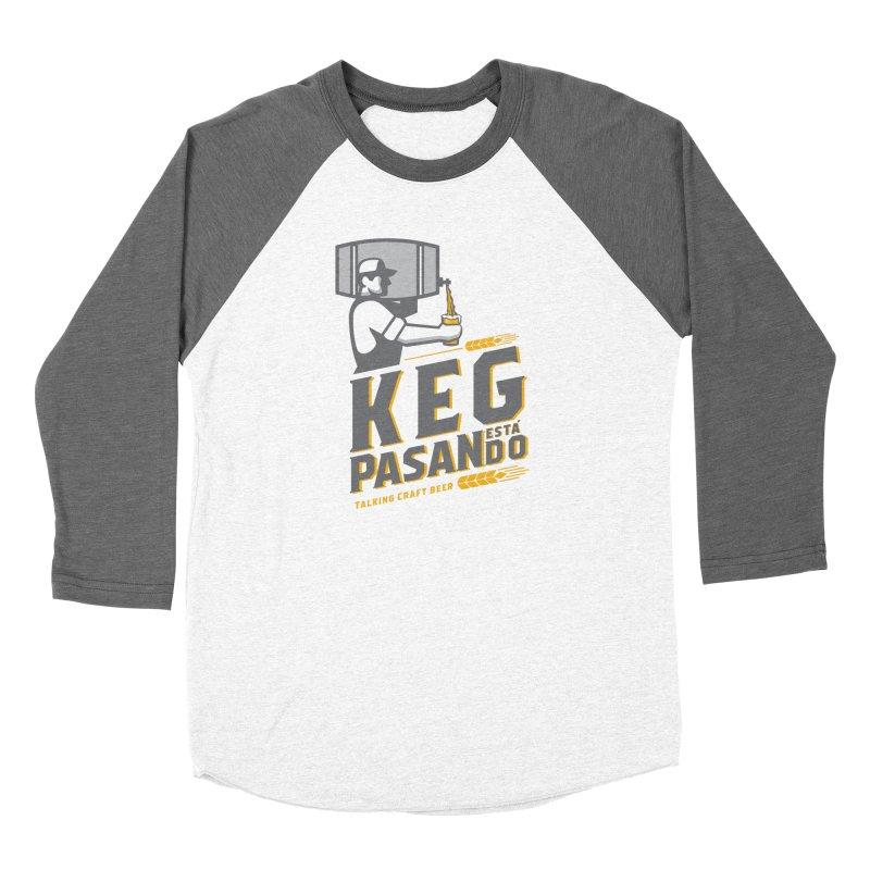 Kept Keg Pour (transparent) Women's Longsleeve T-Shirt by Talking Craft Beer Shop