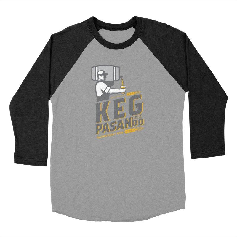 Kept Keg Pour (transparent) Men's Longsleeve T-Shirt by Talking Craft Beer Shop