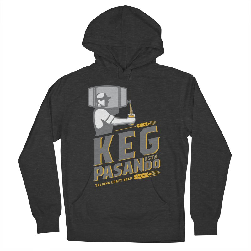 Kept Keg Pour (transparent) Women's French Terry Pullover Hoody by Talking Craft Beer Shop