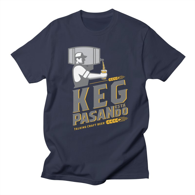 Kept Keg Pour (transparent) Men's Regular T-Shirt by Talking Craft Beer Shop