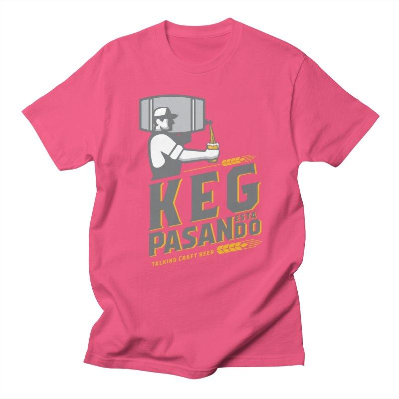 Kept Keg Pour (transparent) Women's Regular Unisex T-Shirt by Talking Craft Beer Shop