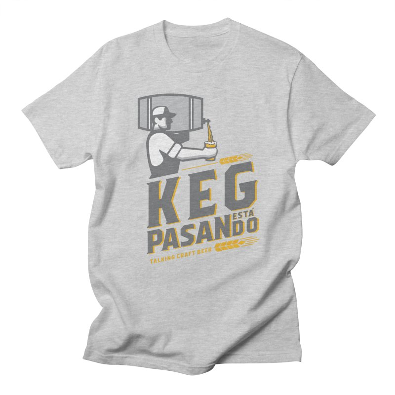 Kept Keg Pour (transparent) Men's Regular T-Shirt by Talking Craft Beer Shop