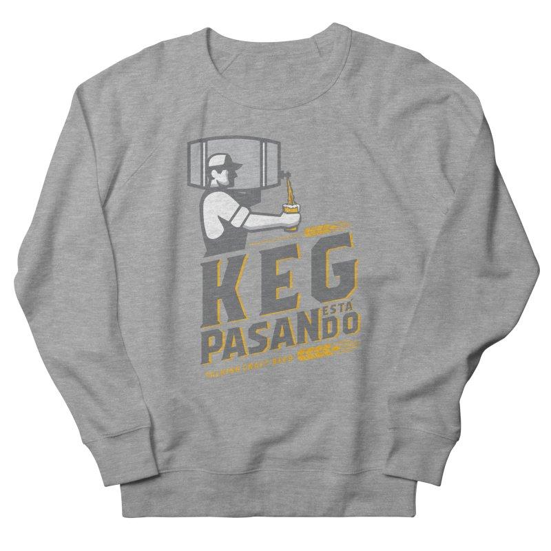 Kept Keg Pour (transparent) Men's French Terry Sweatshirt by Talking Craft Beer Shop