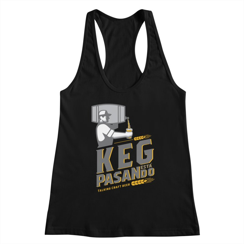 Kept Keg Pour (transparent) Women's Tank by Talking Craft Beer Shop
