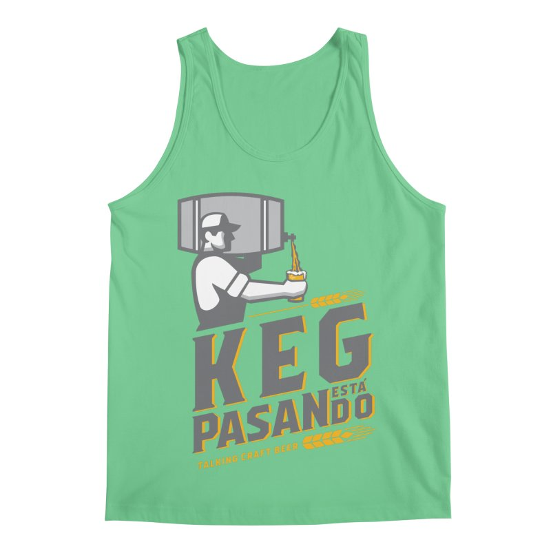 Kept Keg Pour (transparent) Men's Regular Tank by Talking Craft Beer Shop