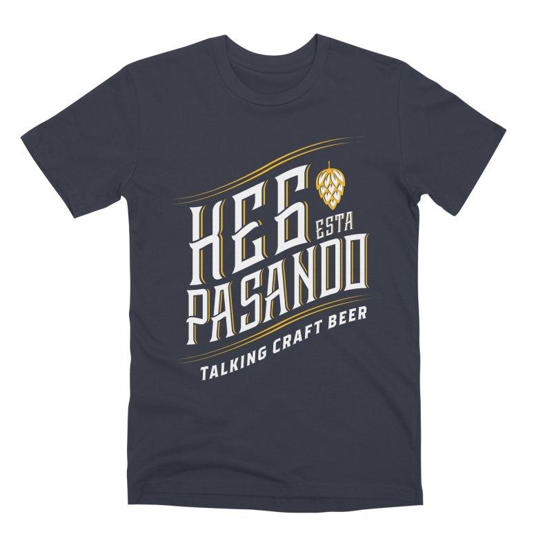 Kept Tagline (transparent) Men's Premium T-Shirt by Talking Craft Beer Shop