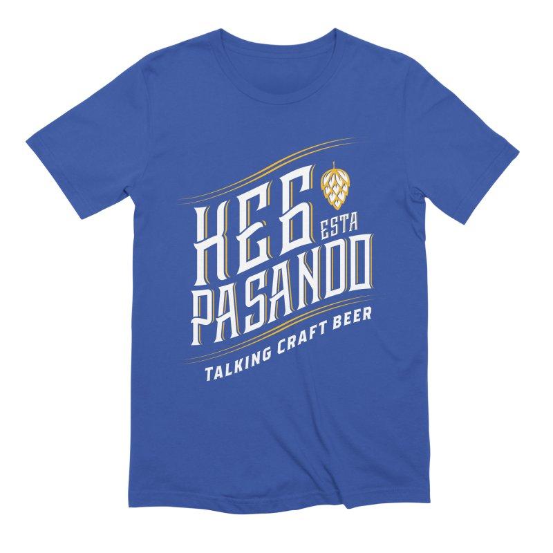 Kept Tagline (transparent) Men's Extra Soft T-Shirt by Talking Craft Beer Shop
