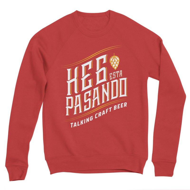Kept Tagline (transparent) Women's Sponge Fleece Sweatshirt by Talking Craft Beer Shop