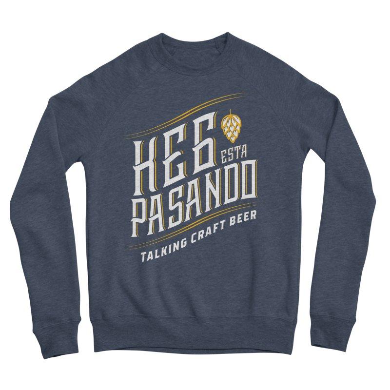 Kept Tagline (transparent) Men's Sponge Fleece Sweatshirt by Talking Craft Beer Shop