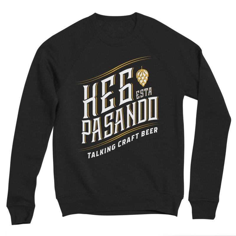 Kept Tagline (transparent) Men's Sweatshirt by Talking Craft Beer Shop