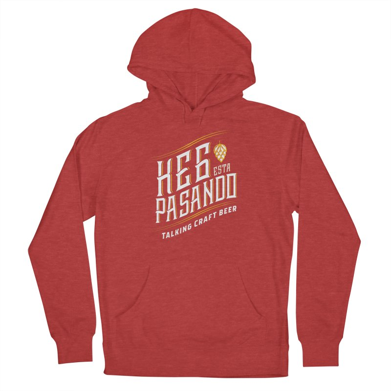 Kept Tagline (transparent) Men's French Terry Pullover Hoody by Talking Craft Beer Shop