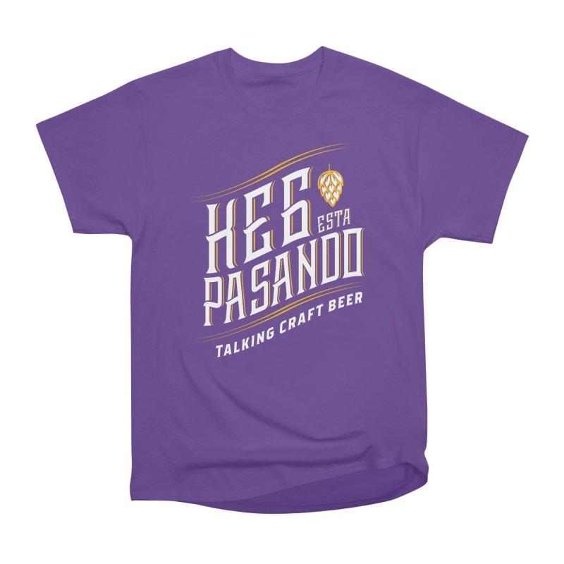 Kept Tagline (transparent) Women's Heavyweight Unisex T-Shirt by Talking Craft Beer Shop