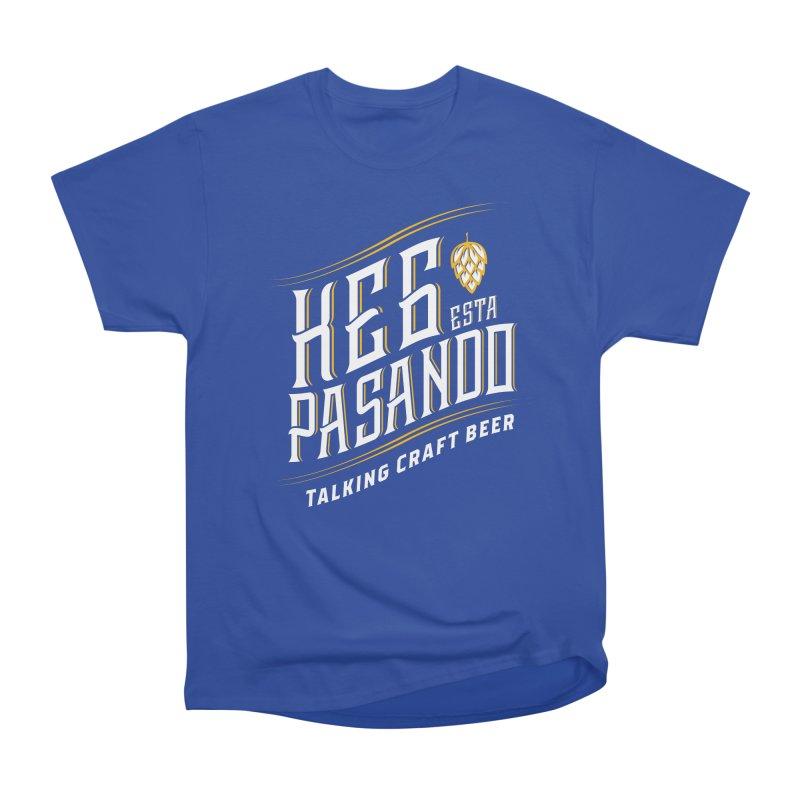 Kept Tagline (transparent) Men's Heavyweight T-Shirt by Talking Craft Beer Shop