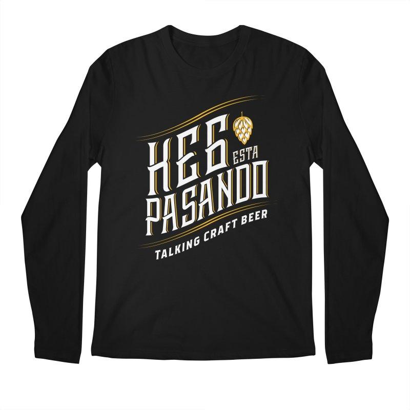 Kept Tagline (transparent) Men's Longsleeve T-Shirt by Talking Craft Beer Shop