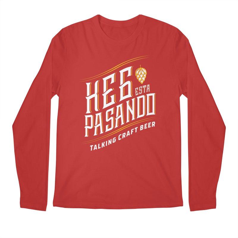 Kept Tagline (transparent) Men's Regular Longsleeve T-Shirt by Talking Craft Beer Shop