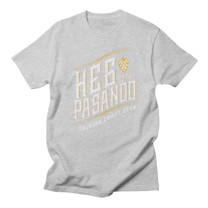 Kept Tagline (transparent) Men's Regular T-Shirt by Talking Craft Beer Shop