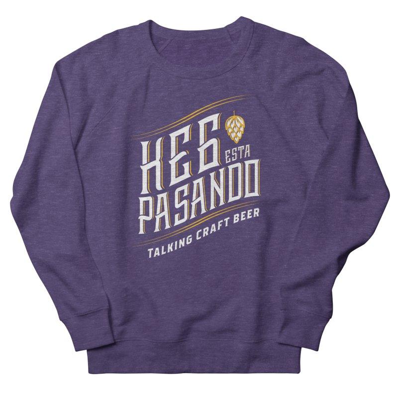 Kept Tagline (transparent) Men's French Terry Sweatshirt by Talking Craft Beer Shop