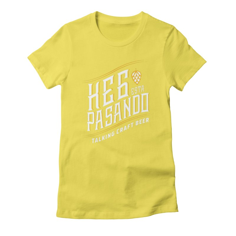 Kept Tagline (transparent) Women's Fitted T-Shirt by Talking Craft Beer Shop