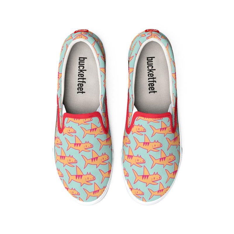 Cat Shark Men's Shoes by Tamara Lance