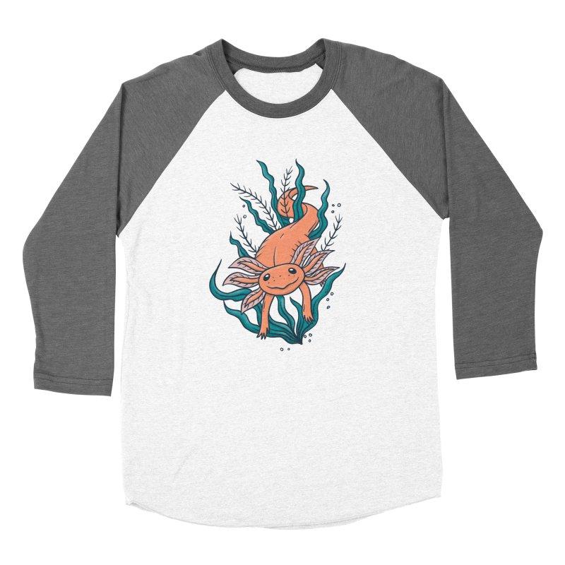 Axolotl Women's Longsleeve T-Shirt by Tamara Lance
