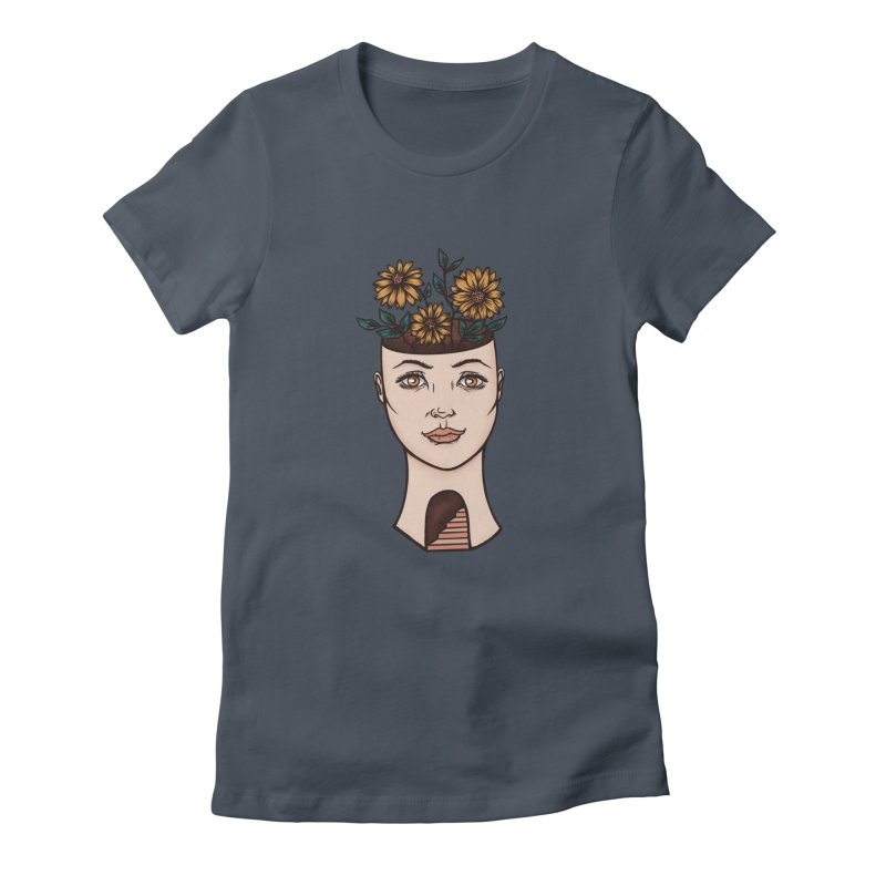 Woman's Flower Head Women's T-Shirt by Tamara Lance