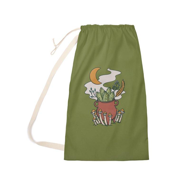 Herbal Magic Cauldron Accessories Bag by Tamara Lance